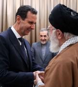 رهبر انقلاب در دیدار بشار اسد:حمایت از سوریه را حمایت از مقاومت میدانیم و به آن افتخار میکنیم