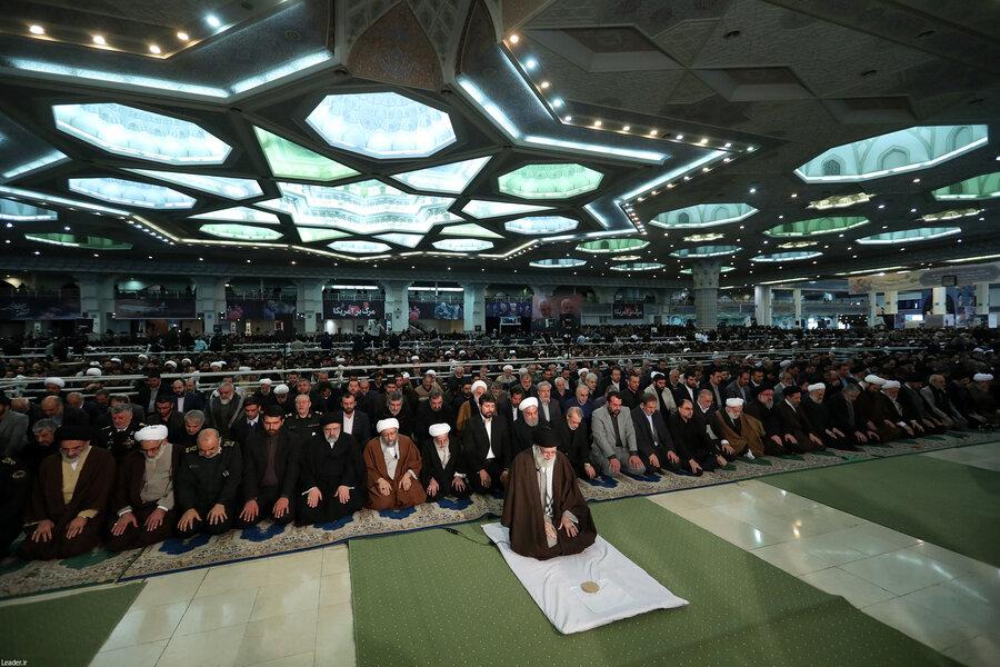 اقامه نماز جمعه امروز تهران به امامت رهبر معظم انقلاب اسلامی