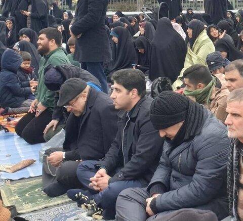 قالیباف در نماز جمعه تهران+عکس
