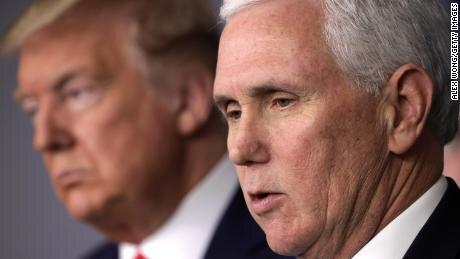 کاخ سفید:تست کرونای پنس و همسرش منفی شد