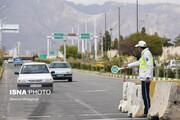 کاهش ۹۵ درصدی تردد خودرو در مشهد